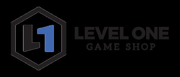 Level One Game Shop Logo